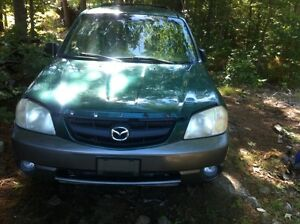 Parting out 2001 Mazda Tribute