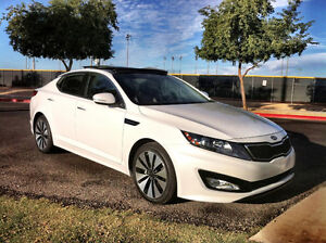 2012 Kia Optima SX TURBO/PAN-ROOF/A/C SEATS/NAVI/CAM/only 500kms