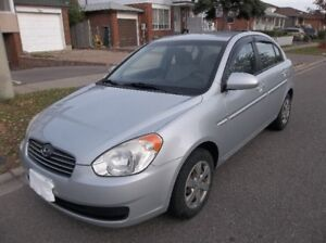2009 Hyundai Accent Auto GL Sedan(Safetied And Etested)