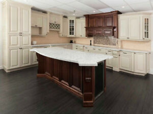 get a free design and free quote on solid wood kitchen!
