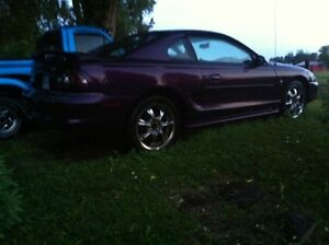 1996 Ford Mustang Low Km's 3250$ obo