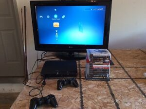 Mint PlayStation 3 + 14 games