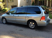 2007 Ford Freestar SEL , 7Pass, Cuir, DVD