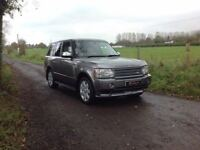 24/7 Trade sales NI 2007 Land Rover Range Rover VOGUE 3.6 TDV 8 HSE Automatic