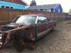 1966-67 FAIRLANE PARTS & 1963 FORD GALAXIE