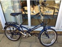 Raleigh Parkway Folding Bicycle