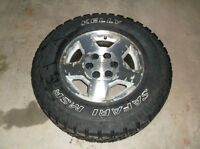 4 Kelly Studded Winter tires and Aluminum Rims