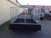 7x5 750kg Deluxe Box Trailer with 900 High cage Narre Warren Casey Area Preview