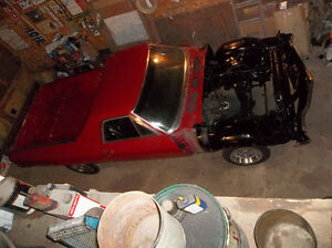Loaded southern 1971 SS454 El Camino ......  barn find