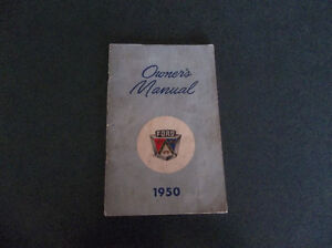 1950 Ford glove box owner's manual London Ontario image 1