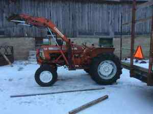 Loader tractor Allis Chalmers d15 Series 2