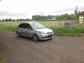 24/7 Trade sales NI Trade prices for the public 2007 Ford Fiesta 1.25 Style Climate 3 Door Silver