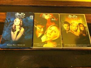Buffy DVDs