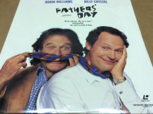 FATHER'S DAY LASERDISC LD LTBX CRYSTAL, ROBIN WILLIAMS  RARE SEALED BRAND NEW