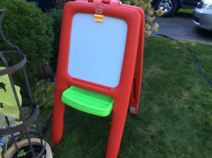 STEP 2 Childs Easel, Chalkboard, Writing, Drawing, Painting etc.