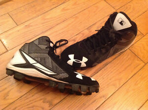 Soulier baseball under armor