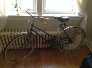 Vintage Road King road bike - needs work