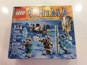 Lego CHIMA # 70232 Saber tooth Tiger tribe Pack