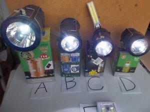 Lanternes a del (beau cadeau) neuves rechargeable et/ou solaire