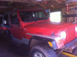 For sale Jeep TJ parts