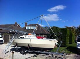 Swift 18 micro yacht sailing boat