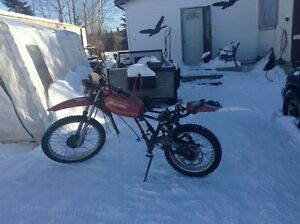 Looking for a seat and exhaust for a 1980 Honda XL250S