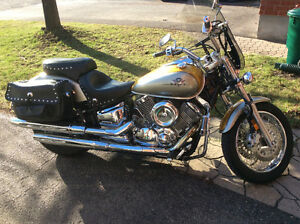 Immaculate v-star 1100 only 16000 kilometres  almost as new