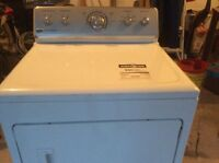 White Maytag centennial commercial technology dryer