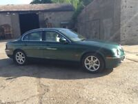 Jaguar racing green 2.7 s type Diesei
