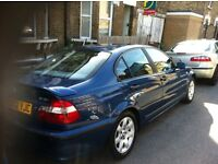 2002 bmw 320 I se with leather new mot and drives without fault