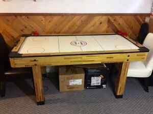 Air hockey table, house hold items