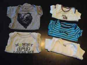 Size 3-6month clothes - nb + Size 2shoes - 2 shooters