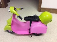 Our Generation Pink Scooter for OG or American Girl Dolls