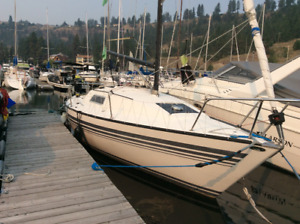 Very well maintained San Juan 7.7 sailboat