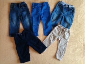 Baby trousers 9-12 months. Bundle 12