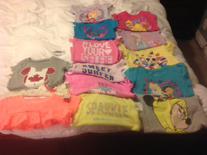 Girls 4T t-shirts For Sale