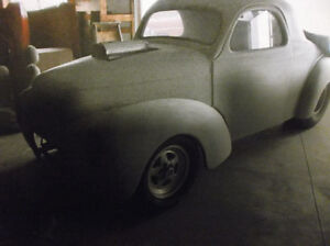 1941 Willys all steel coupe