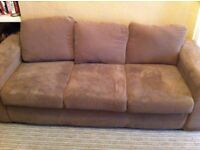 Free sofa and double bed base