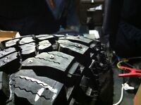 tire studding-(new or used) with or without stud holes