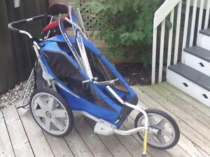 Charriot, 3 roues, avec accessoires de vé