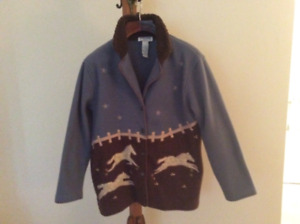 Fleece Western Style Women's Jacket