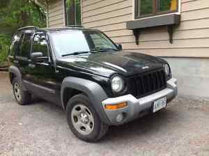 2004 Jeep Liberty Trail SUV, Crossover