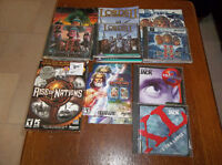 A set of PC games