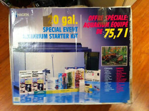20 Gal Fish tank - With extras