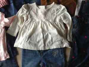 Gap warmest down coat & 24 month girls clothes London Ontario image 4