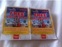 2 x FREE KIDS ENTRY VOUCHERS