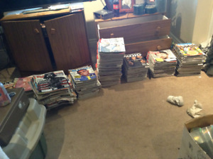 Large collection of music magazines inc Q, Mojo, Uncut, Blender