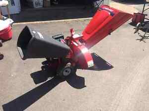 8hp Tecumseh wood chipper 4 sale