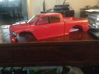 RC bodies and fender flares