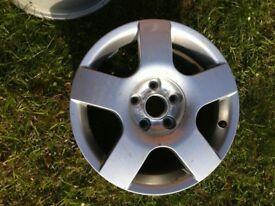 """Audi a4 16"""" alloy (mint)"""